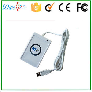 NFC Smart Card Reader/DC5V 13.56MHz IC Copier/NFC RFID Chip Card Reader and Writer pictures & photos