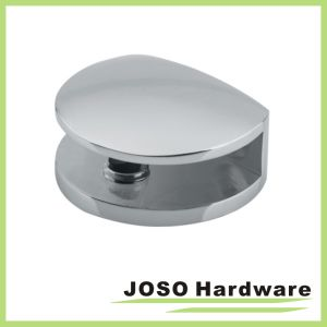 Round Style Mirror Polish Shower Door Glass Clip (BH610) pictures & photos