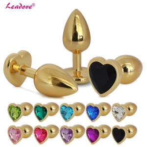 Hot Sell Small Size Stainless Metal Jewelry Anal Butt Plugs GS0302 pictures & photos