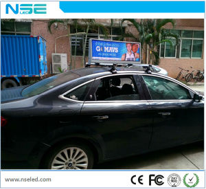 3G WiFi Taxi Roof Advertising Screen P2.5mm Outdoor pictures & photos