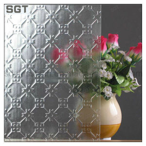 Clear Float Patternted/ Rolled Partition Door Glass pictures & photos