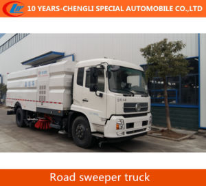 4*2 Road Sweeping Truck 2axles Road Sweeper Truck pictures & photos