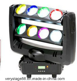 8PCS 10W RGBW 4 in 1 LED Spider Beam Moving Head Light pictures & photos