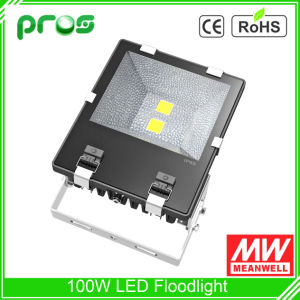Excellent Heat Dissipation 100W LED Floodlight with Copper Pipe pictures & photos