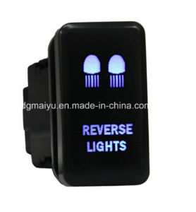 Laser Ecthed 12V Push Switch Reverse Light pictures & photos