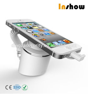 Retail Mobile Phone Display Security Anti Theft Charge Alarm Stand Holder