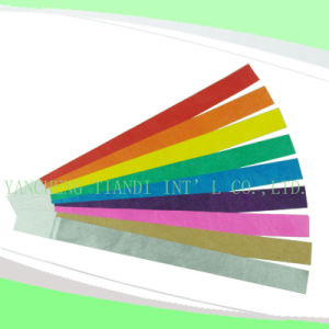 Entertainment Tyvek Customed Cheap Party VIP Wristbands (E3000-2-11) pictures & photos