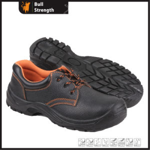 Industrial Leather Safety Shoes with Steel Toe and Steel Midsole (SN5194) pictures & photos