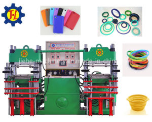 Rubber Silicone Heating Platen Press Machine for Diaphragm pictures & photos