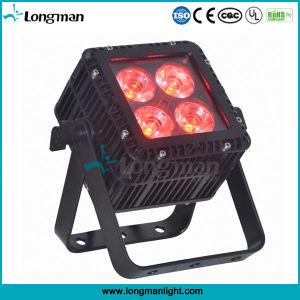 Outdoor RoHS DMX 4 15W Ostar RGBW LED Aluminum Quad Color LED PAR Light pictures & photos
