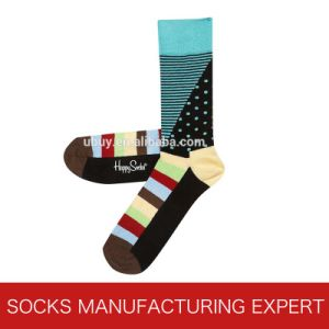 Classic High Quality of Happy Sock Men′s Dress Comb Cotton Sock pictures & photos