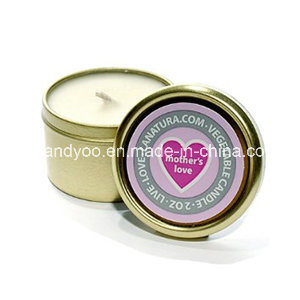 Portable Scented Soy Tin Travel Candle pictures & photos