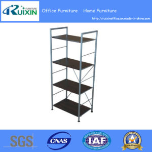 2016 Hot Sale Wooden and Steel Bookshelf (RX-8715)