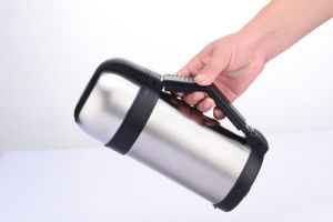 Double Wall Wide Mouth Stainless Steel Wide Mouth Thermos with Handle pictures & photos