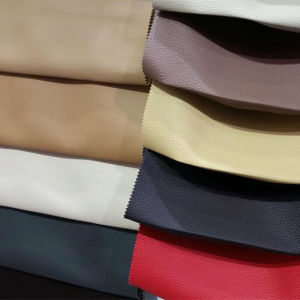PVC Artificial Leather for Sofa Furniture Bags (MG018) pictures & photos