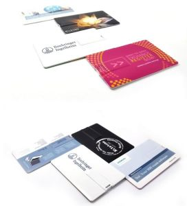 Business Credit Card Pen Drive USB 1GB 2GB 4GB 8GB pictures & photos