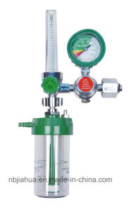 Ce0120 ISO13485 Medical Oxygen Regulator with Flowmeter pictures & photos