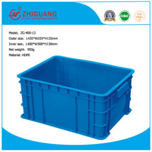 China Supplier Best PP HDPE Plastic Turnover Box pictures & photos