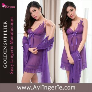 Wholesale Women Ladies Sexy Underwear Babydoll Lingerie (KLX1-004)