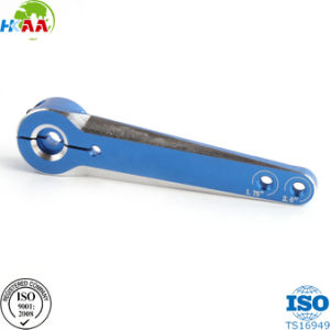 CNC Anodized Aluminum Alloy 6061 Heavy Duty Servo Arms, CNC Milling Robot Extension Arms pictures & photos