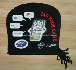 Custom Airline/Car/Bus Cotton Headrest Cover pictures & photos