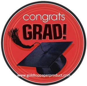 Disposable Paper Plates for Graduation Party pictures & photos
