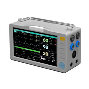 7 Inch Touch Screen Multi-Parameter Patient Monitor with CE (L7) pictures & photos