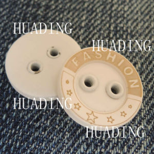 2- Hole Fashion Beautiful Sewing Button of Garment (HD1141-15) pictures & photos