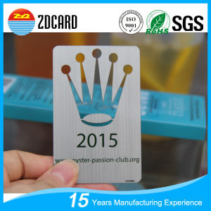 Customed Metal Business IC Card Vipcard pictures & photos