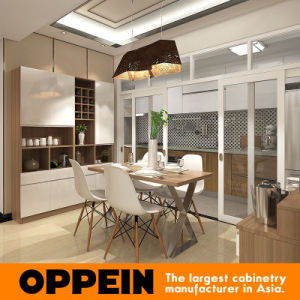 Modern Design Custom Lacquer Wooden Kitchen Furniture for Hotel (OP15-HOUSE3) pictures & photos