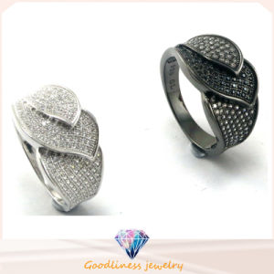 Hot Sale Fashion Jewelry Women CZ Stone Silver Ring (R10148) pictures & photos