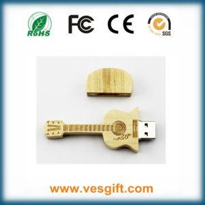 Fashion Design Wooden Guitar USB Memory Stick pictures & photos