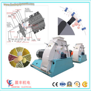 Large Output Aquafeed Powder Making Machinery From Grain pictures & photos