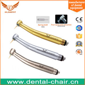 Standard Push Button Triple Water Spray High Speed Handpiece pictures & photos