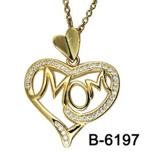 Fashion Jewelry 925 Sterling Silver Love Pendant pictures & photos