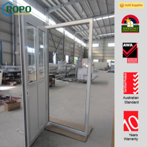 Main Doors Design, PVC Glass Doors with Retractable Screen pictures & photos