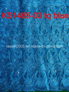 2015 New Fashion Chemical Lace / Guipure Lace / Cord Lace Fabric pictures & photos