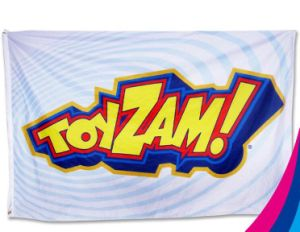 High Quality Customized Polyester Advertising Flag pictures & photos