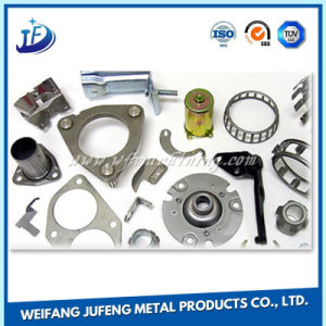 Carbon Steel/Stainless Steel Small Stamping Parts with Zinc Plating pictures & photos