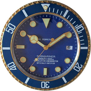 New Product Watch Clock Bule Color Like Swiss Watch (T6110)
