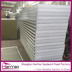 Customized Thickness Color Steel EPS Sandwich Panel Polystyrene Foam Sandwich Panel pictures & photos