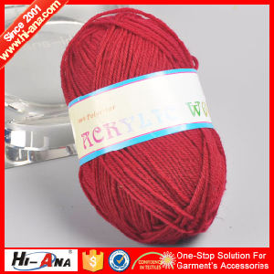 Accept OEM New Products Team Dyed Wool Knitting Yarn pictures & photos