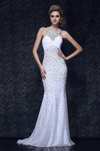 Luxury Halter Prom Evening Dress