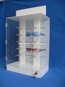 Custom Acrylic Locking Sunglass Display Cabinet pictures & photos