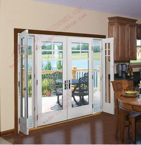 American Standard Hinged Patio Door with Sidelights (BHP-CD28) pictures & photos