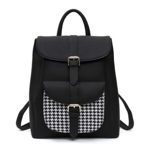 Fashion White Ladies PU Leather Backpacks with BSCI (ZX10388) pictures & photos