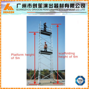 Aluminum Scaffolding Tower, Movable Scaffolding for Sale pictures & photos