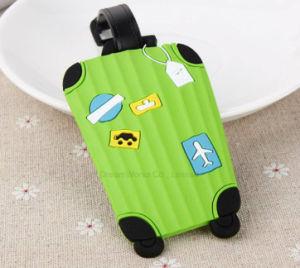 Silica Gel Luggage Tag Soft PVC Tag Boarding Luggage Tag Travel Luggage Tag Handbag Tag pictures & photos
