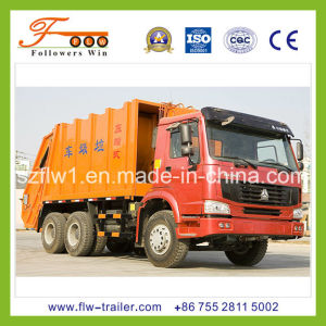 HOWO 22cbm Compressed Garbage Truck
