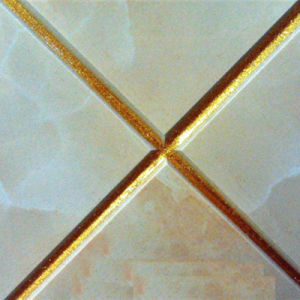 Crystal Gold Mica Powder for Tile-Seam Filling pictures & photos